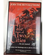 Tale Of Two Cities /14 x 22 Window Card poster Broadway Signed/framed - $92.57