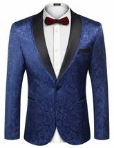 COOFANDY Men's Floral Tuxedo Suit Jacket Slim Fit Dinner Jacket Party Pr... - $104.32+