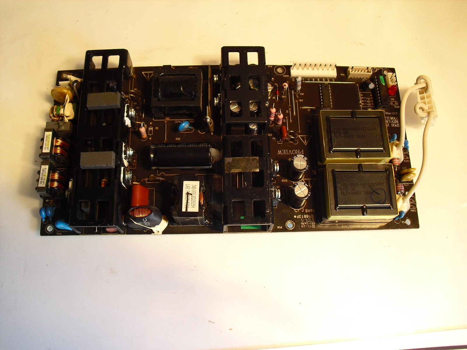 Primary image for tc18813 f  power  board  for  polaroid ,  element  etc