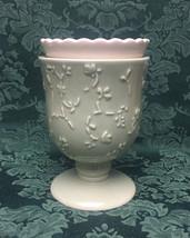 Hallmark Moments of Beauty candle tart burner warmer sage green tea light - $6.00