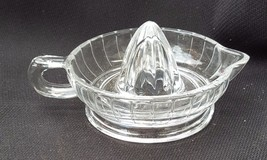 Clear Anchor Hocking Depression Glass Citrus Reamer - $8.00