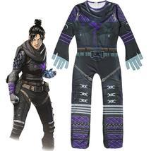 Apex Llegends Ghost Spirit Wraith Jumpsuit Halloween Cosplay Costume for Kids - $29.99