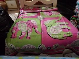 Vera Bradley Pink Elephant silk scarf  - £22.68 GBP