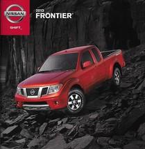 2013 Nissan FRONTIER sales brochure catalog US 13 SV SL Desert Runner PRO-4X  - $6.00