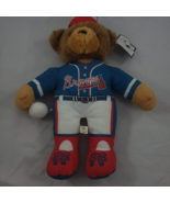 "ATLANTA BRAVES Teddy Bear Stuffed Animal Plush 14"" MLB Licensed w/ TAGS ... - $16.79"