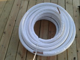 Pre-Insulated Copper tubing 1/2x1/2 105 ft Duragaurd