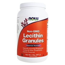 NOW Foods Lecithin Granules Non-GMO, 2 lbs. - $31.99