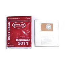 Replacement for Kenmore 3 Type P Canister Vacuum Cleaner Bag 5011 20-5001 401005 - $8.66
