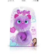 "Pomsies ""BOOTS"" Plush Interactive Toy, Pink & White wearable pom - pom pets - $17.75"