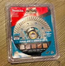 """Makita B-69696 4-1/2"""" Turbo Rim Diamond Masonry Blade Single - $13.36"""
