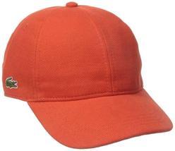 Lacoste Men's Classic Baseball Premium Cotton Pique Croc Logo Hat Cap RK0123-51 image 8