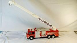"Vintage 1993 27"" Tonka Fire Truck Engine No. 5 Rescue Boom Ladder Firetruck - $58.95"