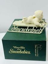 -Department 56 Snowbabies--Slip, Sliding Away- Fig-# 6808 -Retired - $23.99