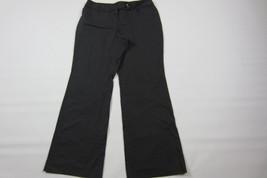 NWT- ANN TAYLOR LOFT Julie Dark Gray Pinstripes Dress Pants Size 10 (Len... - $14.36