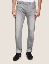 ARMANI EXCHANGE Authentic Straight Leg Faded Grey Jean Gray NWT  - $49.99