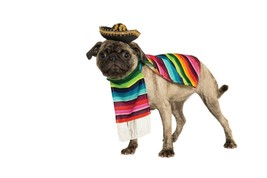 PET MEXICAN PONCHO Small - $16.15