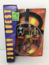 Jonny Quest Ezekial Rage Dr Quest Jungle Assault Galoob NOS Sealed 1996 - $17.77