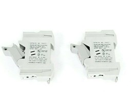 LOT OF 2 COOPER BUSSMANN CHCC1 FUSE HOLDERS 30A 600V