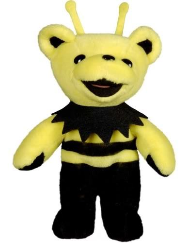 "GRATEFUL DEAD KING BEE 7"" BEAN   BEAR"
