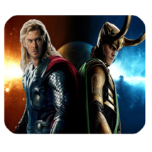 Mouse Pad Thor And Loki Asgard Prince Heroes Movie Blood Brothers Anime Game - $9.00