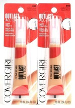 2 Covergirl 0.34 Oz Outlast All Day 850 Medium Deep Soft Touch Gentle Concealer - $17.99