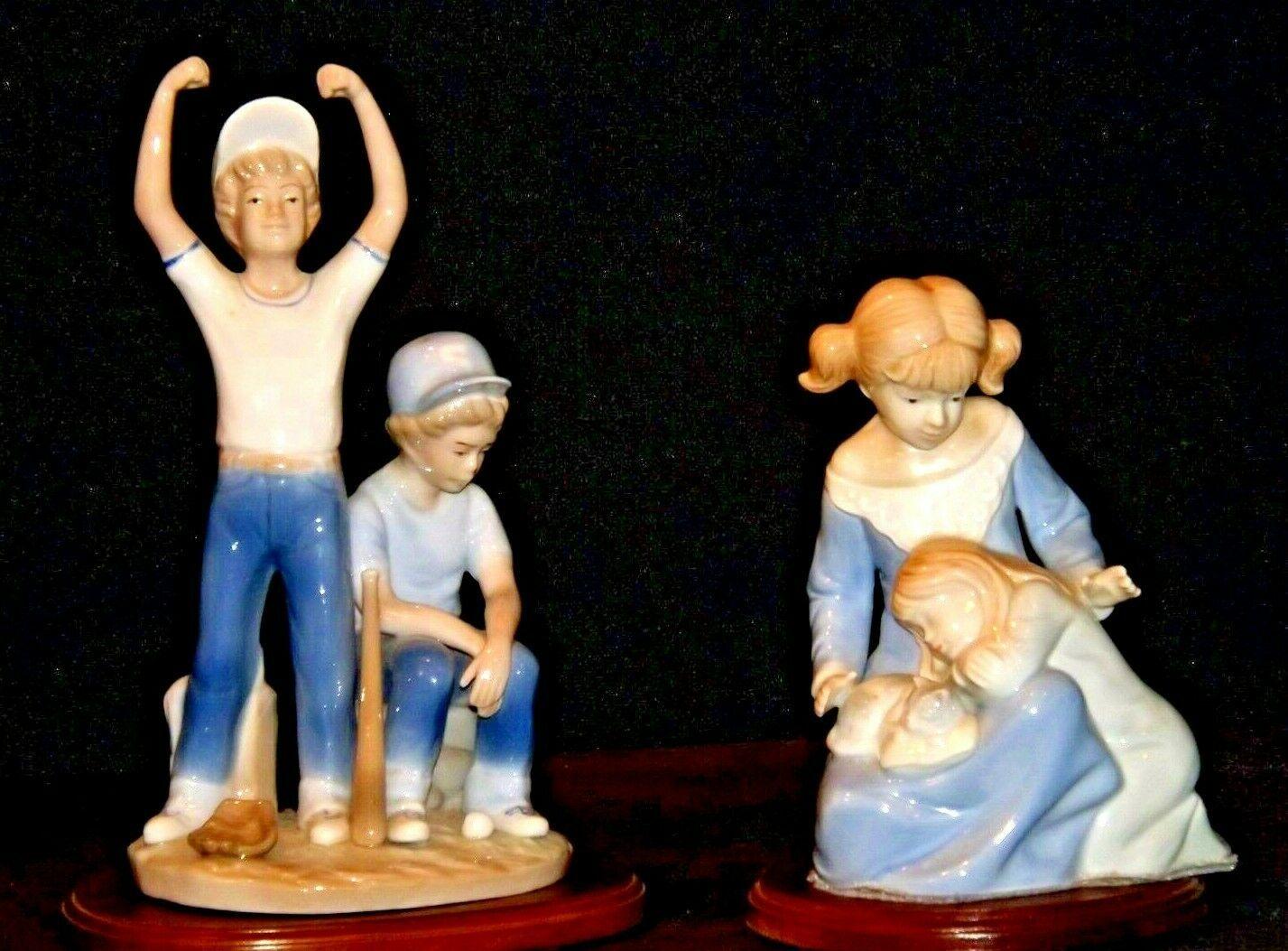 Paul Sebastian Figurines AA19-1523 Vintage Pair 1989 AA19-1523 Vintage