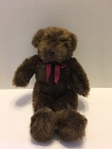 Ganz Bear Plush Chestnut Brown Stuffed 1994  - $8.59