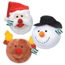 Holiday Dog Toys Snowball Gang Christmas - Choose Snowman Santa or Reind... - £7.70 GBP+