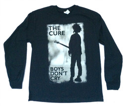 The Cure-Boys Don't Cry Retro-X-Large  Longsleeve Black T-shirt - $23.21