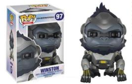 """Funko Pop! Games: Overwatch Action Figure - Winston, 6"""" 97 - $21.95"""