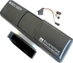 BECKER SILVERSTONE 6 DISC CD CHANGER + CARTRIDGE FIBER OPTIC PLUG - REFU... - $179.55