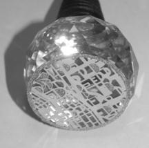 Judaica Crystal Shabbat Bottle Cork Stopper Jerusalem Old City Decoration  image 6