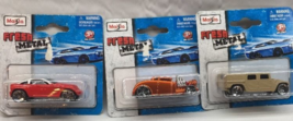 *Maisto Jeepster, Knuckle Dragger, and Humvee Lot of 3 Pull Backs 1:38 S... - $5.34