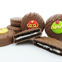 Philadelphia Candies Decorated Holiday Ornaments Milk Chocolate OREO® Cookies - $15.79