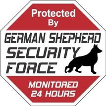 "German Shepherd Dog Yard Sign ""Security Force German Shepherd"" - $11.80"