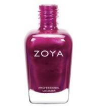 Zoya Nail Polish Mason ZP692 purple toned fuchsia metallic Nail Lacquer New - $10.00