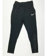 Nike Academy 18 Soccer Training Sweat Pant Youth Unisex M Black 893746 P... - $29.69