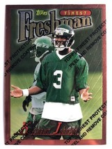 1996 Topps Finest #225 Keyshawn Johnson Rookie Card New York Jets NFL Card - $1.99