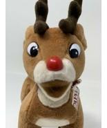 "Stuffins Plush 6"" Rudolph Reindeer 50th Anniversary Island Misfit Toys V... - $14.36"