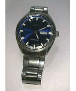 Seiko Automatic Stainless Steel Silver/Blue Dial Wrist Watch (For Parts) - $57.00