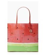 KATE SPADE NWT MAKE A SPLASH LEN TOTE BAG WATERMELON  - $248.00