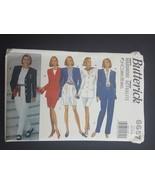 Butterick Sewing Pattern 6657 Womens Misses Jacket Skirt Shorts Pants 12... - $6.95