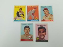 1958 Topps Baseball Cards Lot of 5 #264,353,392,432,463 Vg-Ex Tigers Pir... - $13.54