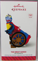 THE GREAT GONZO Muppet 2014 Hallmark Christmas Holiday Ornament NIB Magi... - $12.59