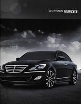 2013 Hyundai GENESIS Sedan sales brochure catalog US 13 3.8 5.0 R-Spec - $10.00