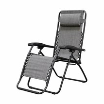 Caravan Sports Infinity Zero Gravity Chair, Grey - $73.99