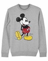 Mickey Mouse Classic Kick Children's Unisex Grey Sweatshirt - $21.31