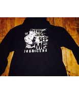RARE WWE WWF JOHN CENA YOU CAN'T SEE ME HOODIE SIZE Youth XL - $20.89