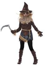 California Kostüm Gruselig Vogelscheuche Spielfeld Tween Mädchen Hallowe... - $31.36