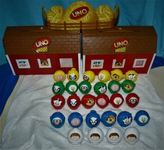 Uno MOO ! Board Game Mattel Games 2008 - $15.46
